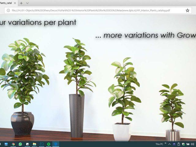 آبجکت سه بعدی گلدان ، درخت و گل و گیاه 6 640x480 - صفحه اصلی دیزاین پلاس