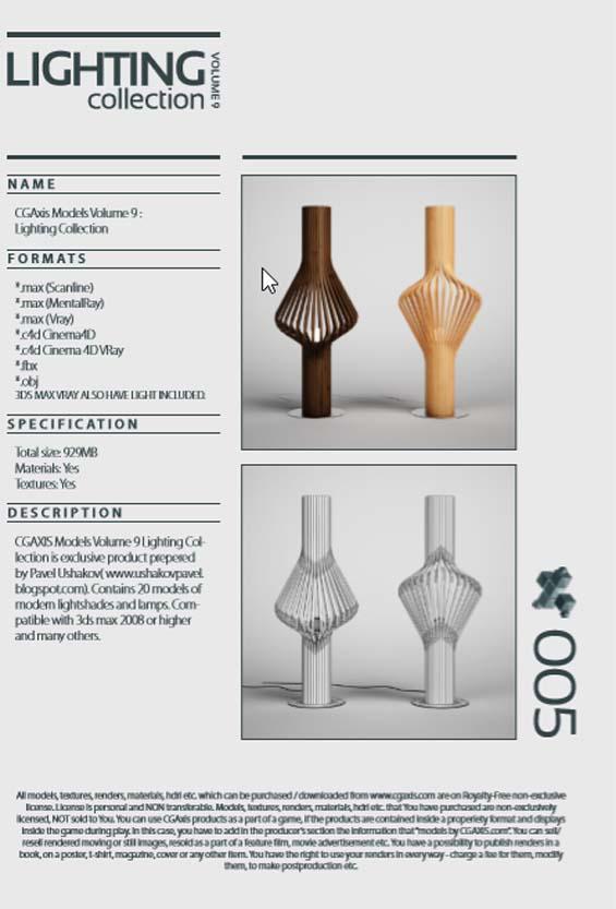 آبجکت لوستر سه بعدی 3Ds Max 5 - دانلود رایگان ۳۰۰ آبجکت لوستر سه بعدی ۳Ds Max