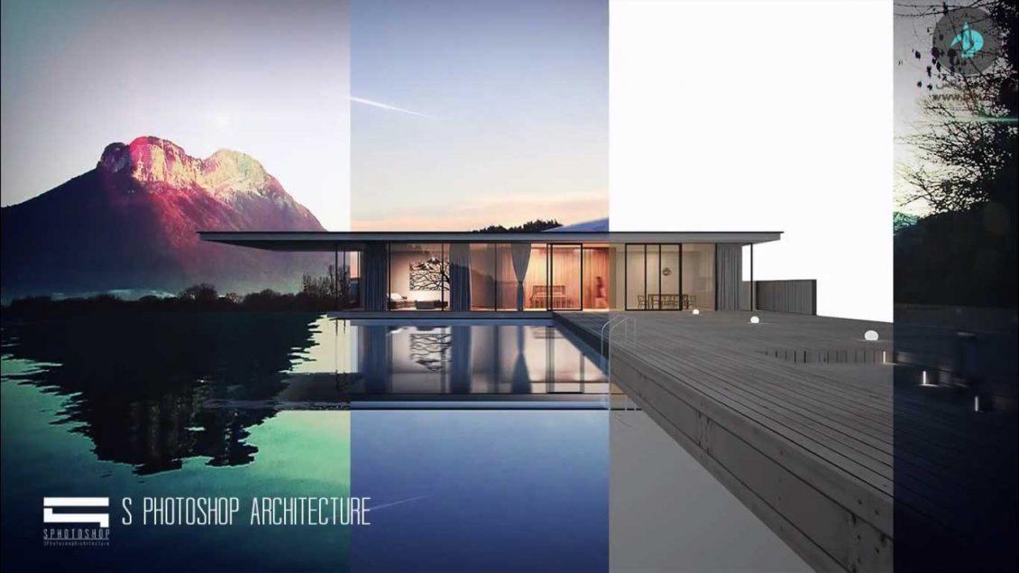 آموزش رایگان فتوشاپ معماری
