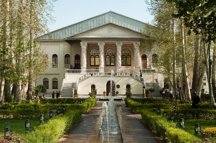 باغ فردوس تهران تجریش - مستند شکوه معماری - عمارت فردوس تهران