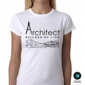 تی شرت طرح معماری آرشیتکت ۱ – زنانه