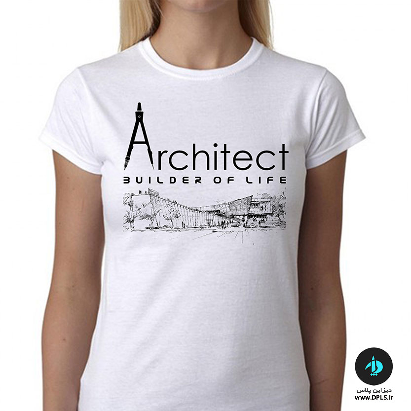 تیشرت-طرح-معماری-زنانه