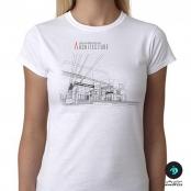 تی شرت طرح معماری آرشیتکت ۲ زنانه