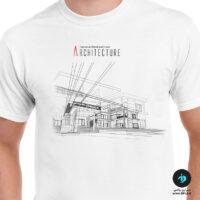 تی شرت طرح معماری آرشیتکت 2 - مردانه