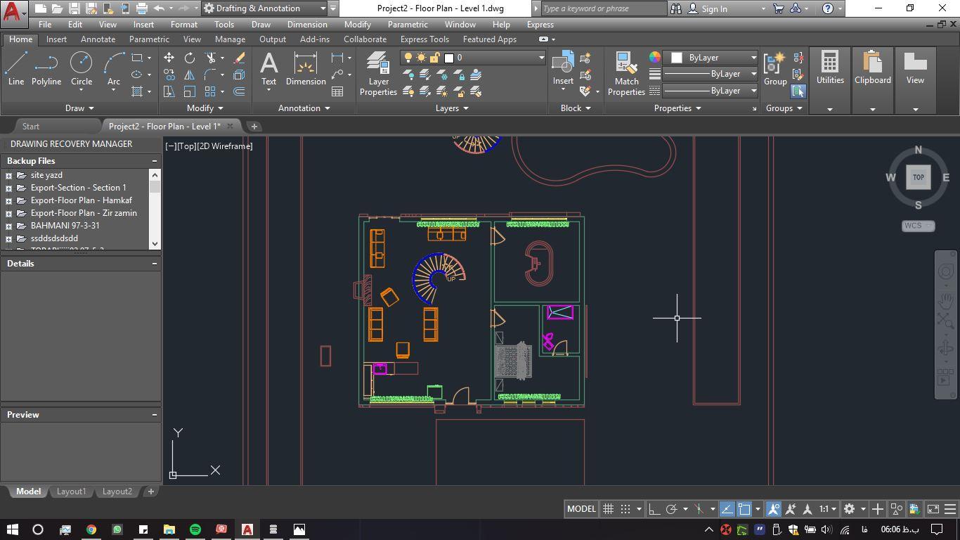 نقشه های طرح خانه معمار