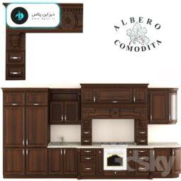 دانلود آبجکت و صحنه ۳d Max کابینت آشپزخانه (۲۳)