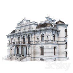 دانلود آبجکت ۳d Max انواع ساختمان کم حجم 5 255x255 - استودیو هنر و معماری دیزاین پلاس