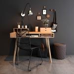 دانلود رایگان آبجکت میز و صندلی سه بعدی (۷)