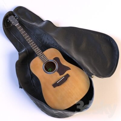 دانلود رایگان آبجکت ۳d Max ادوات موسیقی