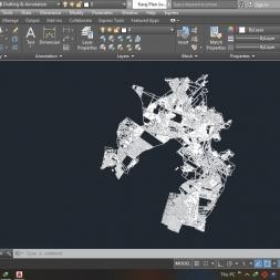 دانلود رایگان نقشه اتوکد شهر کرج ( استان البرز )