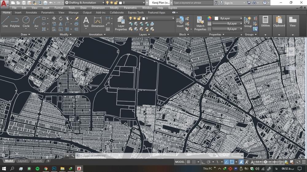 دانلود رایگان نقشه کرج 2 1000x562 - دانلود رایگان نقشه اتوکد شهر کرج ( استان البرز )