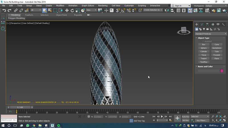 دانلود سه بعدی ساختمان ری سوئیس (۱)
