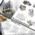 دانلود شیت لایه باز معماری شماره ۲۵ ( ۱۴۰*۹۰ سانتیمتر)