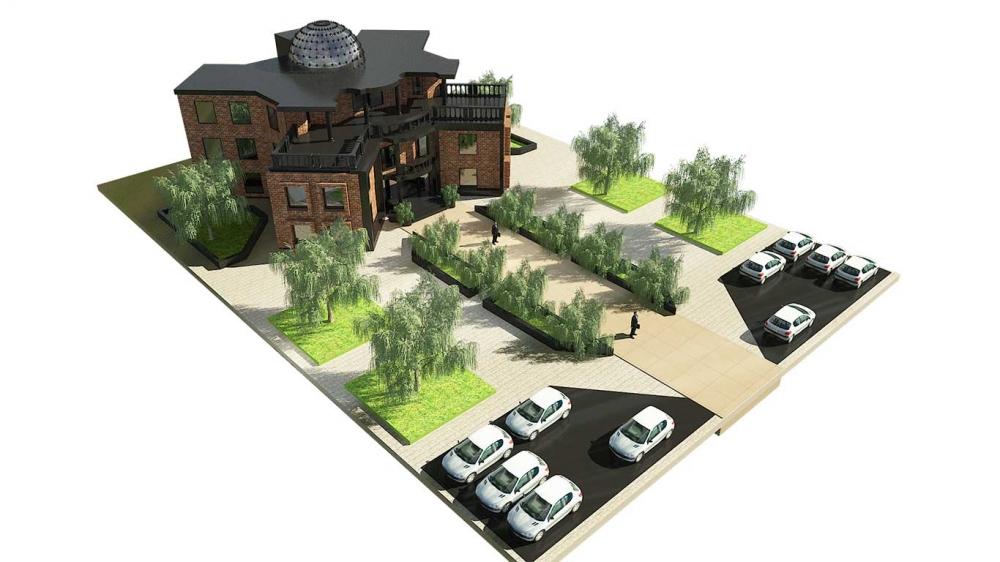 دانلود پروژه دانشکده 3 1000x562 - دانلود پروژه دانشکده ( نقشه ، سه بعدی )