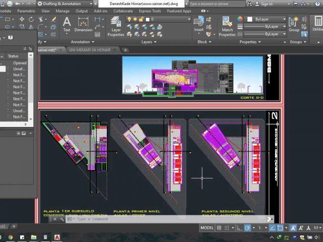 دانلود پروژه دانشگاه 2 640x480 - آموزش رایگان و کامل Scketchup به زبان فارسی