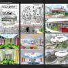 دانلود پروژه دبستان طرح آموزشی معماری داخلی به همراه نقشه ، سه بعدی و جزئیات