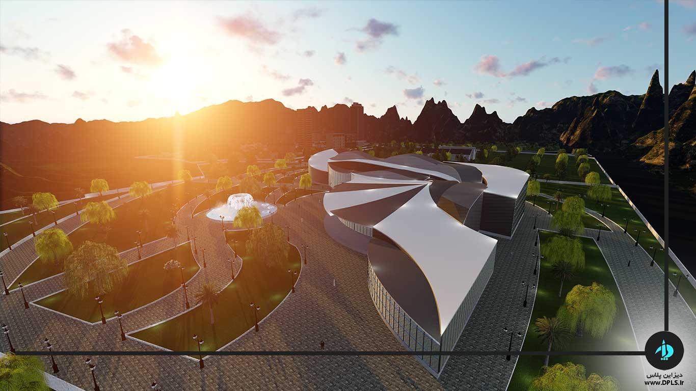 دانلود پروژه معماری خانه موسیقی (۱)