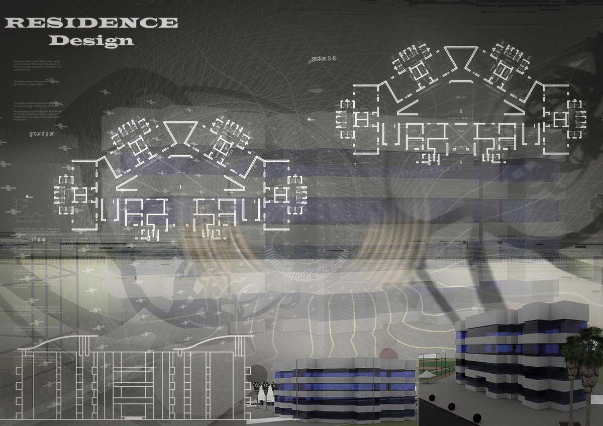 دانلود پروژه معماری خوابگاه دانش آموزی ۱