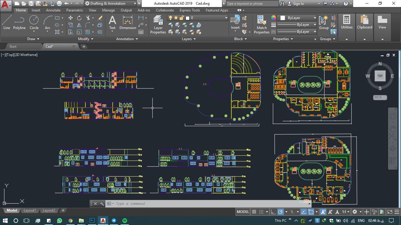 دانلود پروژه طراحی داخلی کلینیک