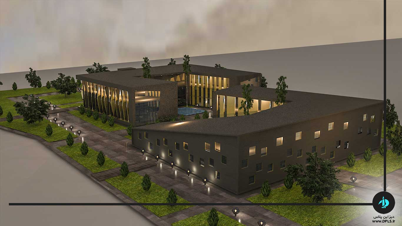 دانلود پروژه معماری ساختمان شهرداری (۳)