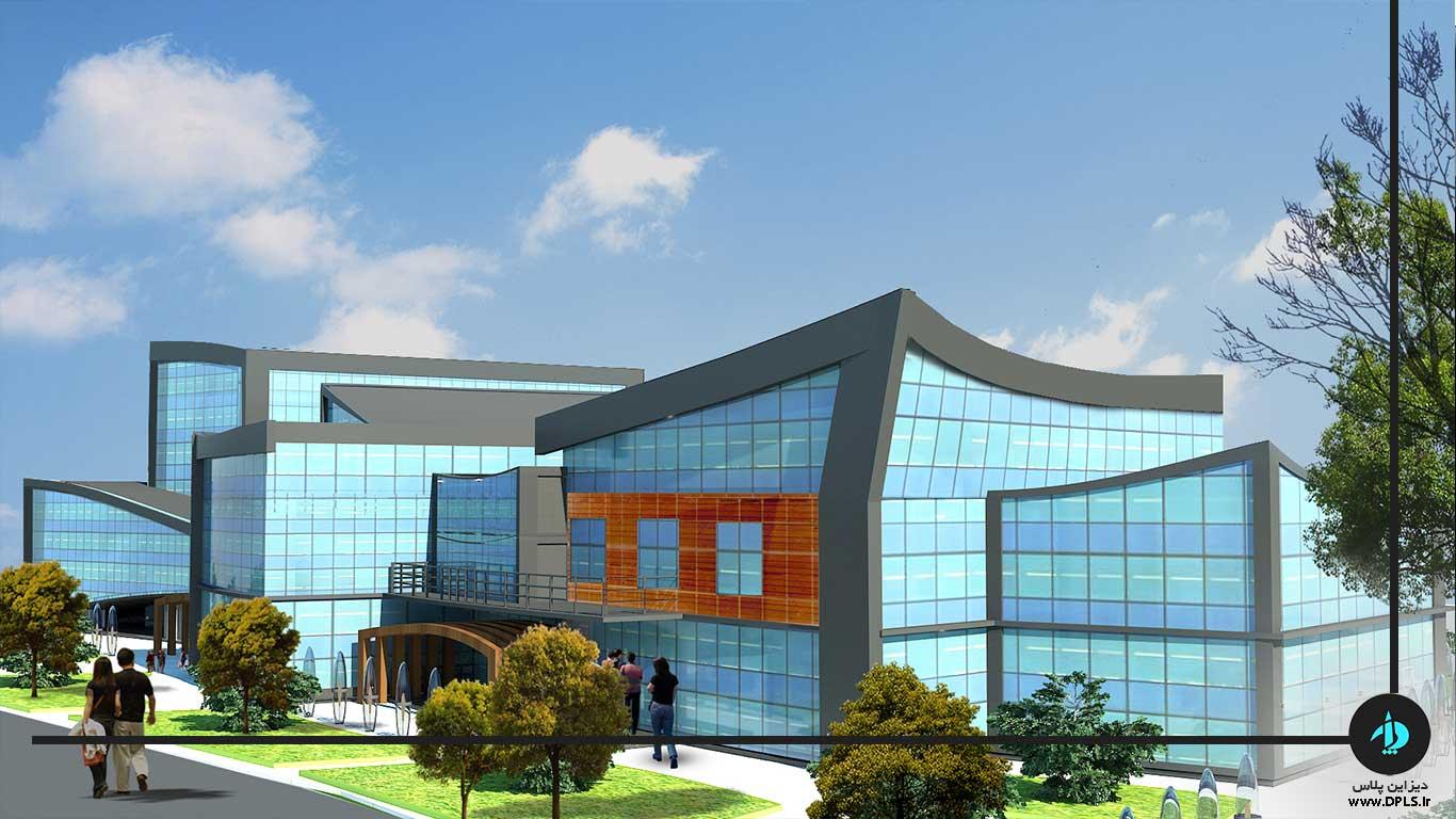 دانلود پروژه ساختمان شهرداری