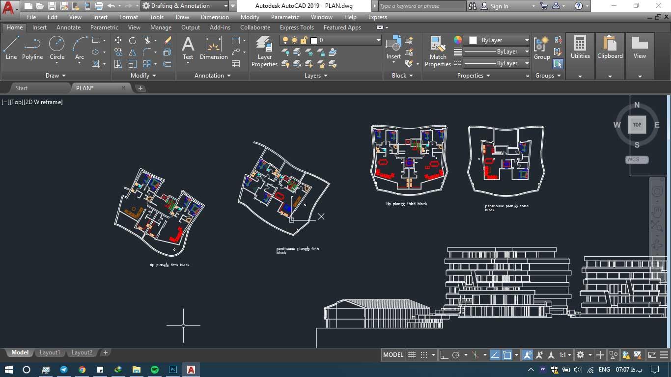 دانلود پروژه معماری شهرک 2 - دانلود پروژه معماری شهرک (نقشه،سه بعدی،شیت)