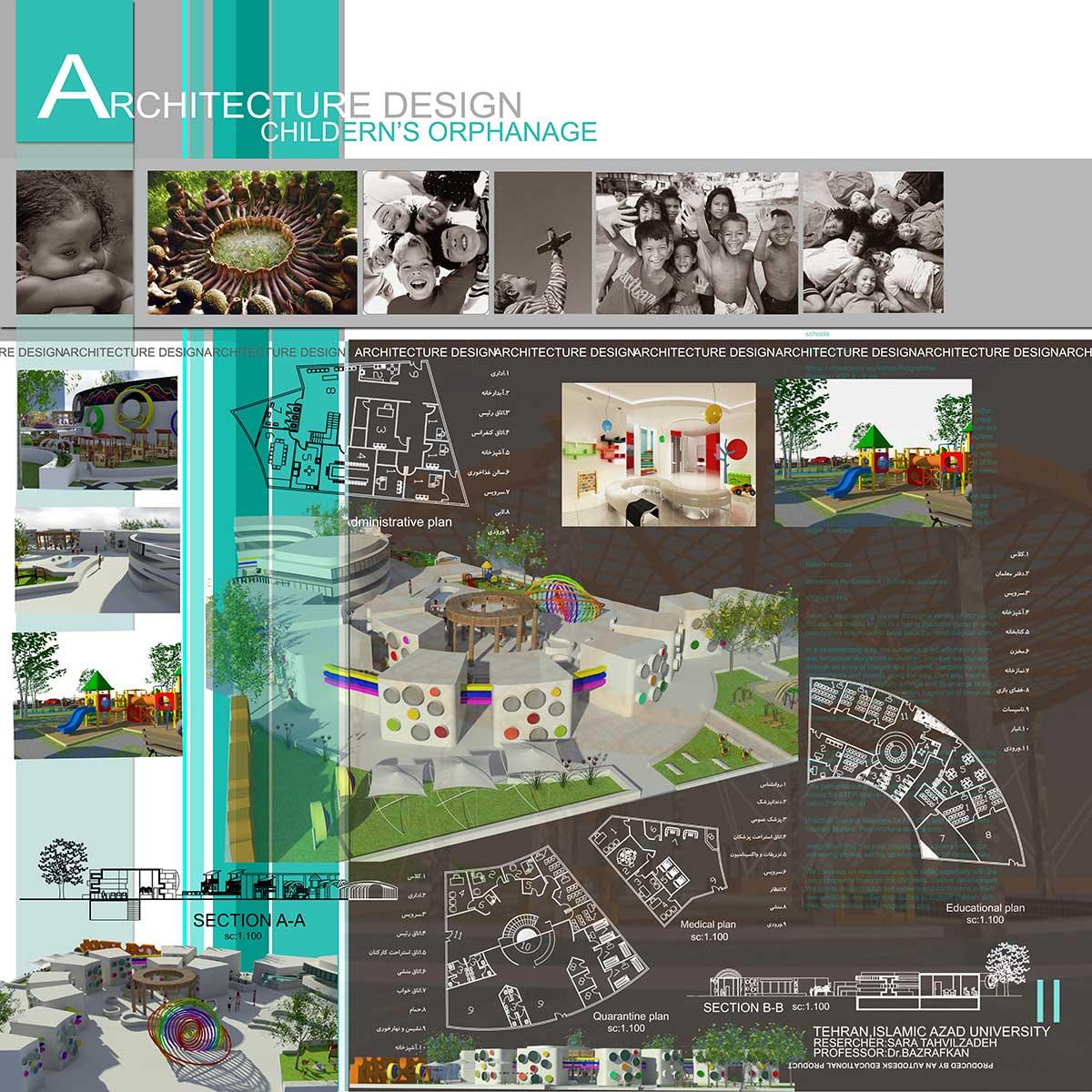 دانلود پروژه معماری مهد کودک (۱)