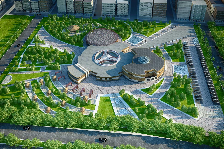 پروژه معماری مهد کودک