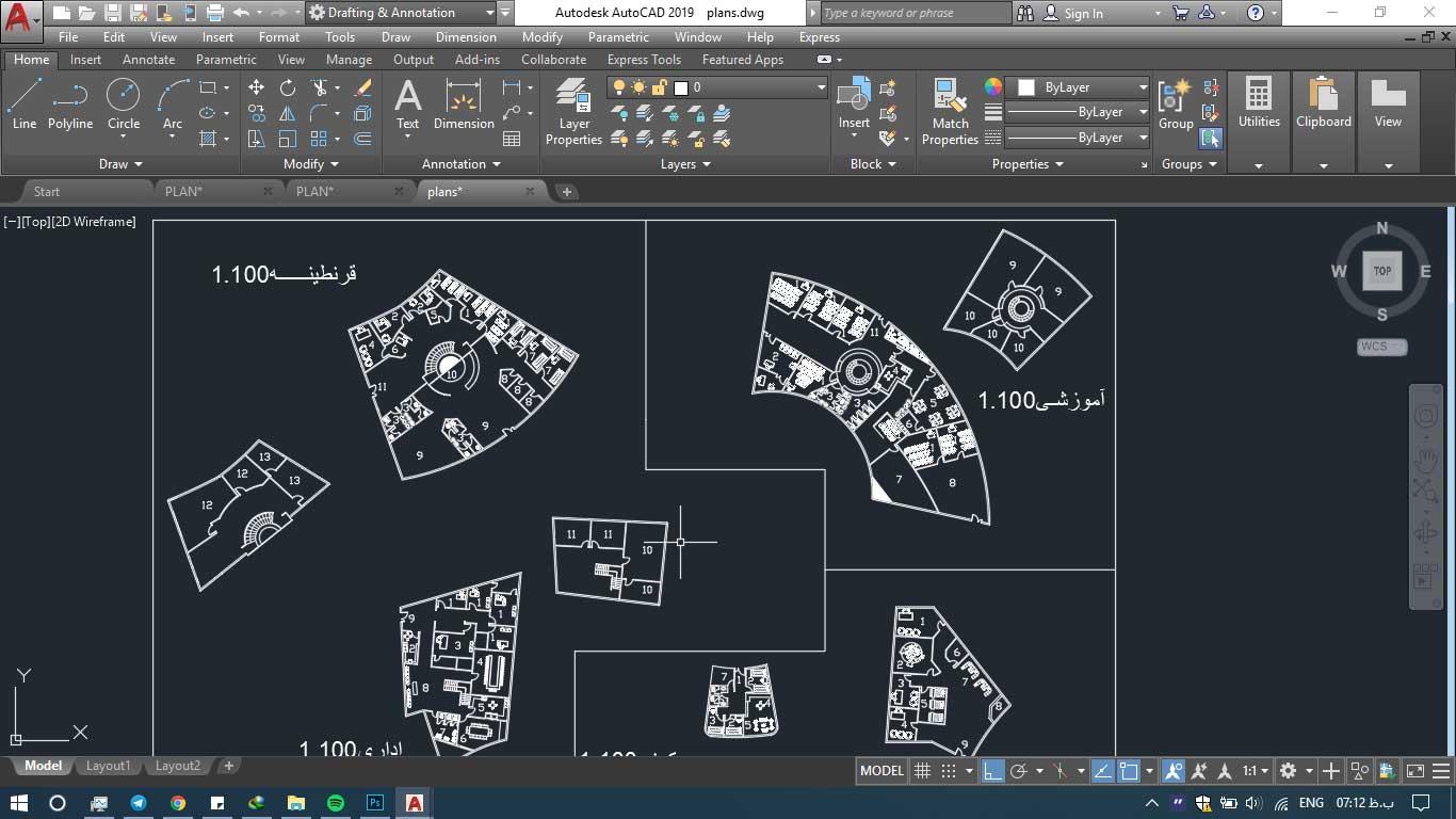 دانلود پروژه معماری مهد کودک 2 1 - دانلود پروژه معماری مهد کودک (نقشه،سه بعدی،شیت)