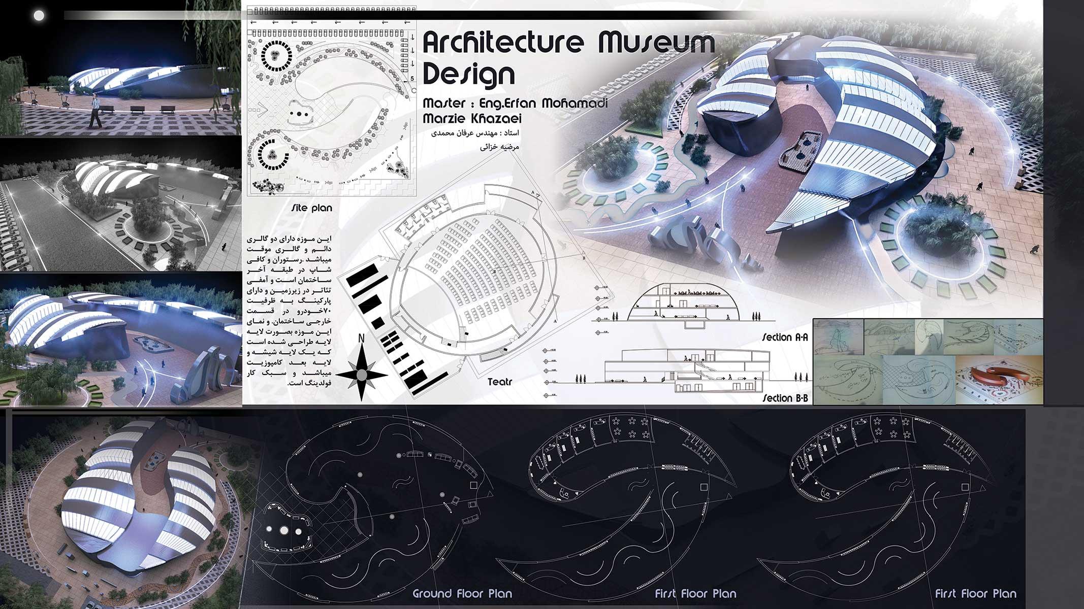 موزه به سبک فولدینگ (۱)