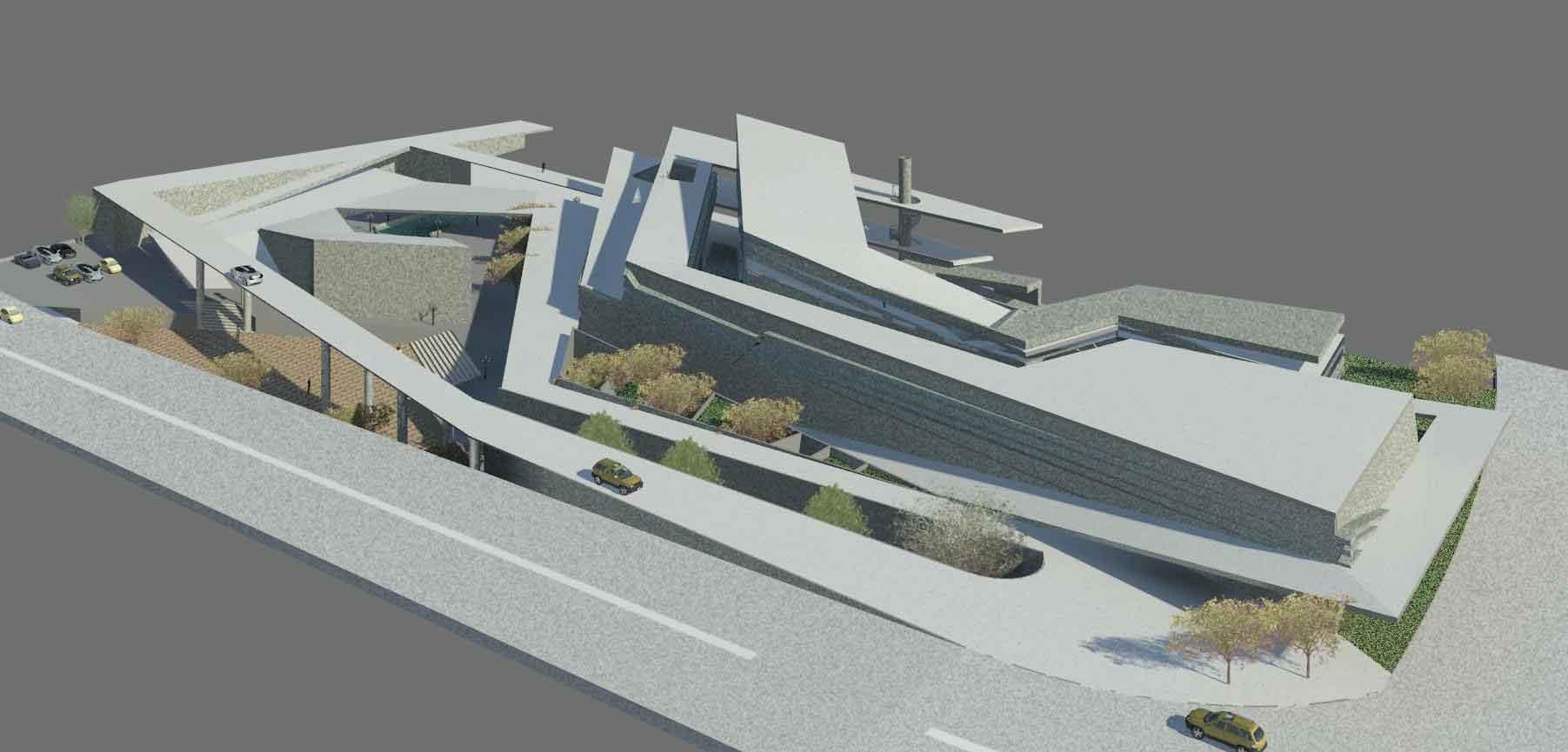 دانلود پروژه معماری موزه هنر