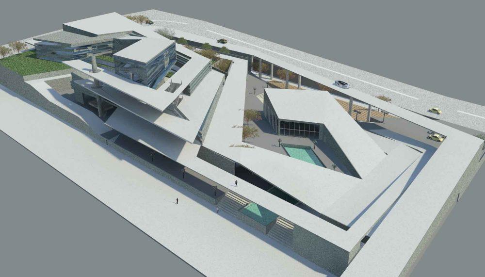 پروژه معماری موزه هنر