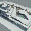 دانلود پروژه معماری موزه هنر – به همراه نقشه ، سه بعدی و جزئیات