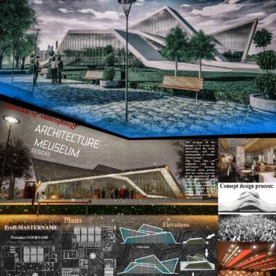 دانلود پروژه معماری موزه