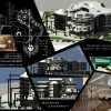 دانلود پروژه معماری هتل برای ورزشکاران همراه نقشه و سه بعدی