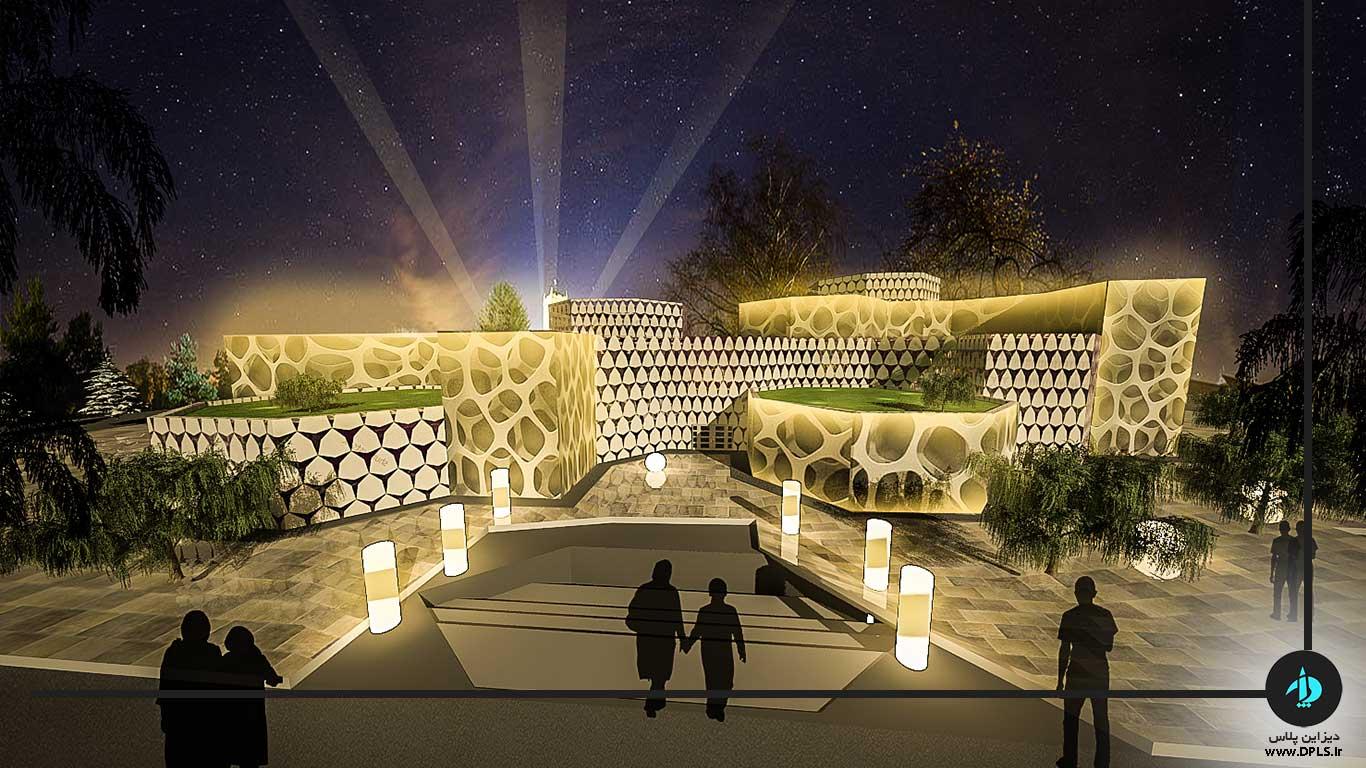دانلود پروژه معماری هتل ۵ ستاره (۱)