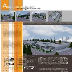 دانلود پروژه پژوهشگاه انرژی های نو (نقشه،سه بعدی،شیت)