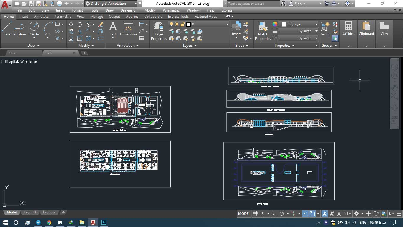 دانلود پروژه معماری پژوهشکده انرژی های نو (۲)