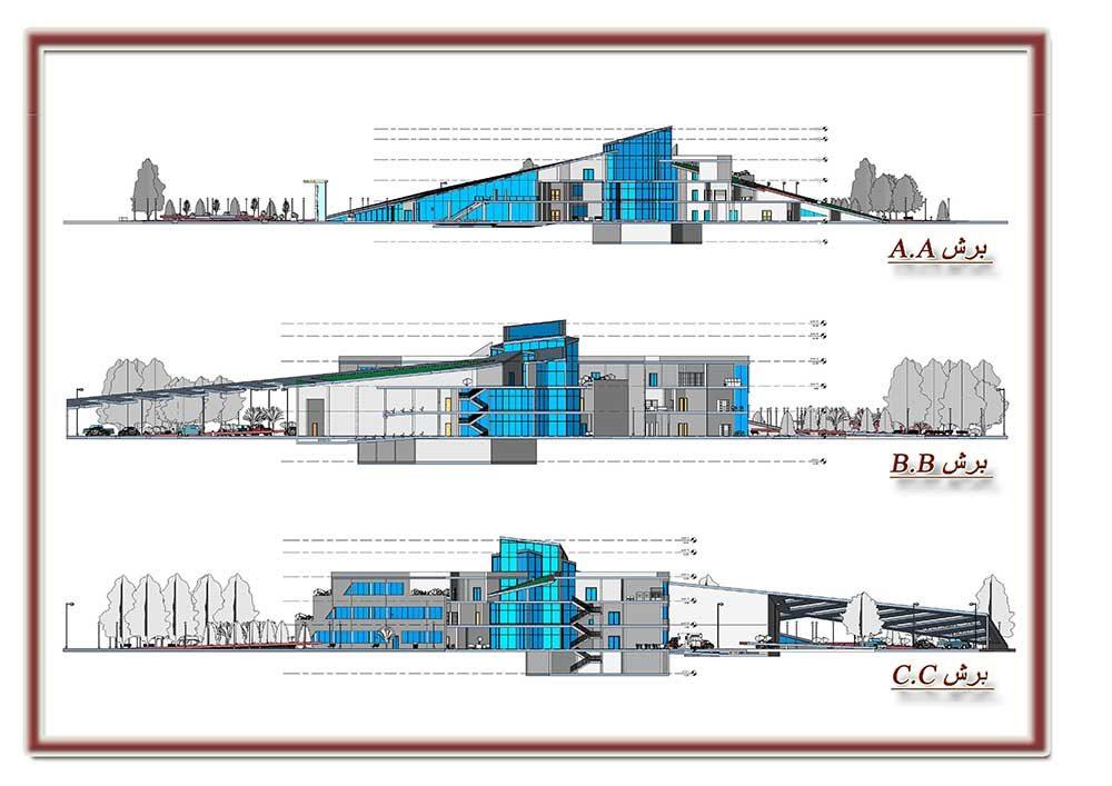 پروژه معماری پژوهشکده