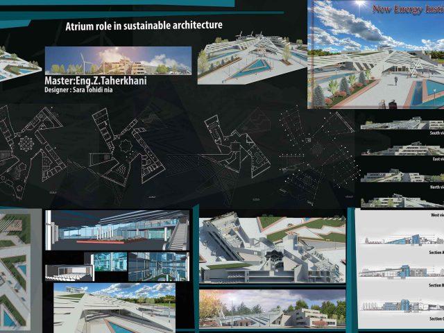 دانلود پروژه معماری پژوهشکده
