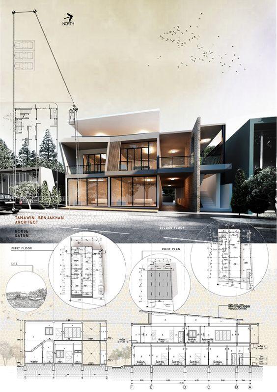 نمونه شیت بندی فتوشاپ معماری