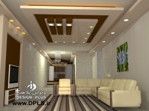طراحی سقف کناف 6 300x225 - طراحی سقف کناف