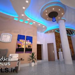 طراحی سقف کناف