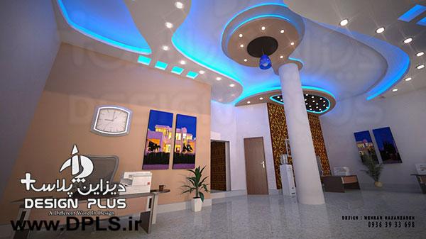 طراحی سقف کناف 7 - طراحی سقف کناف