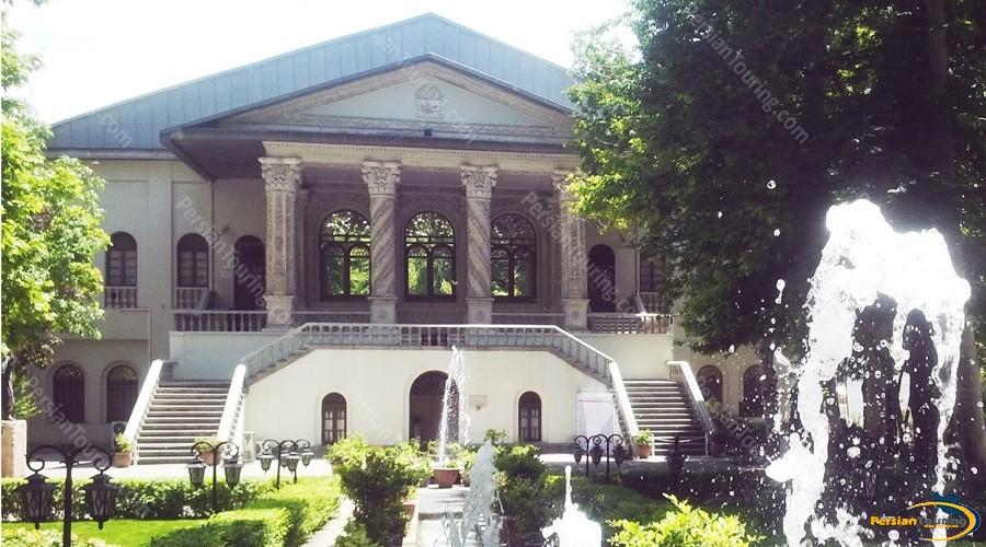 عمارت باغ فردوس تهران - مستند شکوه معماری - عمارت فردوس تهران