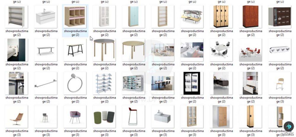 فمیلی مبلمان رویت Revit Ferniture Family (1)