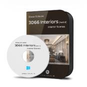 مجموعه بزرگ ۱۸۰۰ صحنه داخلی ۳D66 2019 (مجموعه دوم)