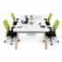 میز کار مبلمان اداری Revit 70x70 - استودیو هنر و معماری دیزاین پلاس