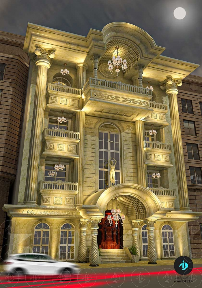 نما کلاسیک 2 700x1000 - دانلود صحنه آماده نما رومی ( دیزاین پلاس اکستریور۴)