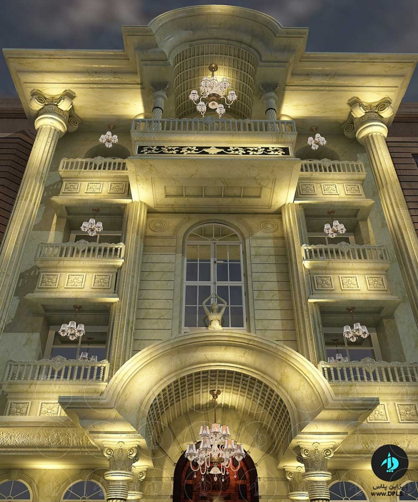 نما کلاسیک 4 1 833x1000 - دانلود صحنه آماده نما رومی ( دیزاین پلاس اکستریور۴)